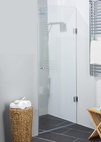 glasdør til brusekabine Brusedøre 8 mm | Køb dør til bruseniche i 8 mm glas online glasdør til brusekabine