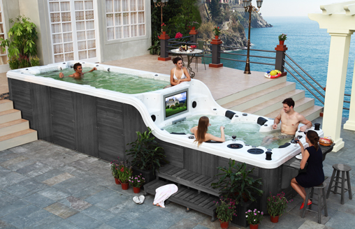 Swimspa Sea View Lux